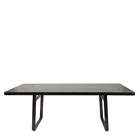 Faux Concrete Dining Table