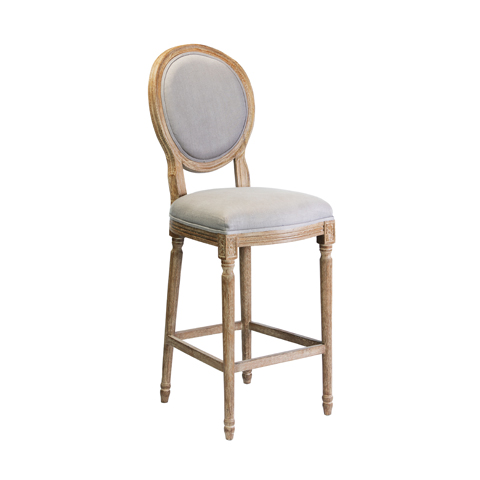 Bordeaux / Dior Bar Stool