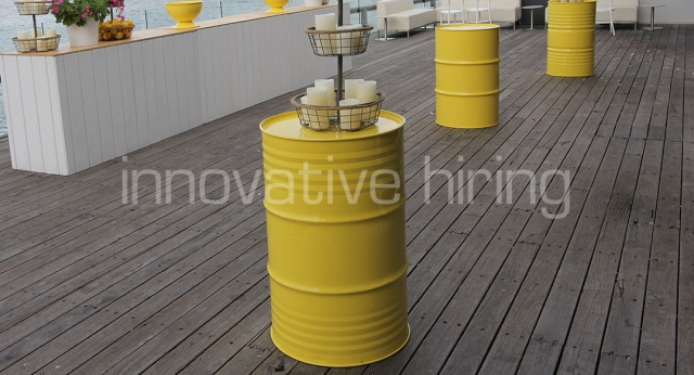 Features: Coloured Oil Drums