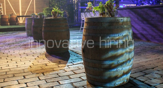Features: Provincial Wine Barrels
