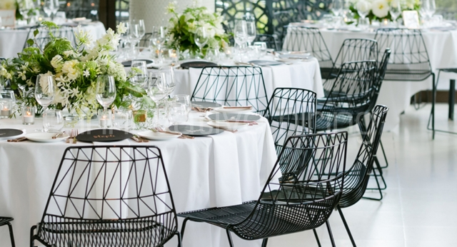 Features: Black Arrowe Chairs