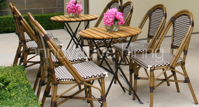 Features: Paris Cafe Chairs