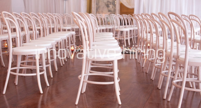 Features: Bentwood Chairs with Pads
