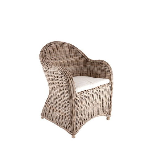 Provincial Wicker Armchair