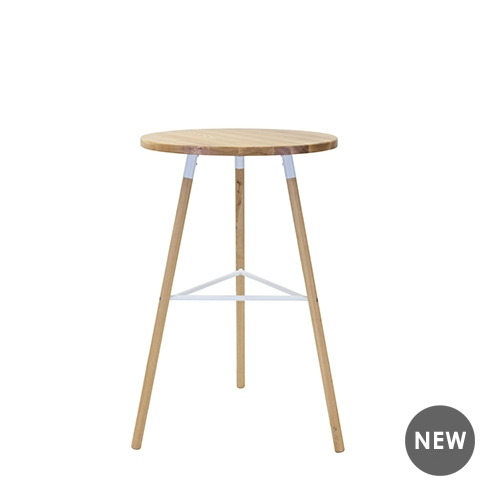 Scandi Natural Bar Table