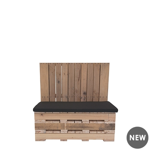 Pallet Booth Seat