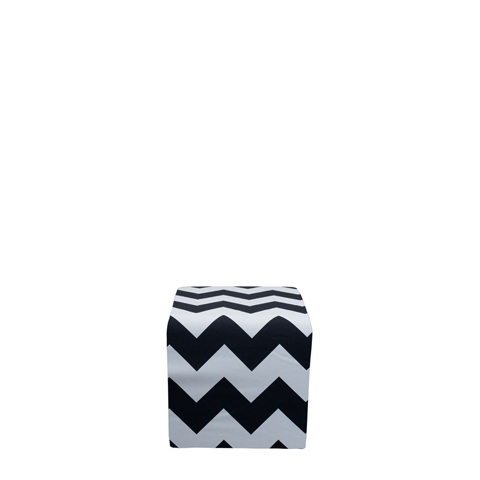 Chevron Covered Cube